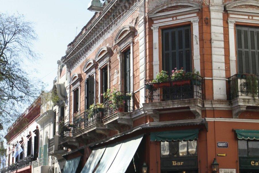 Plaza Dorrego et ses cafés et restaurants (© Stéphan SZEREMETA))