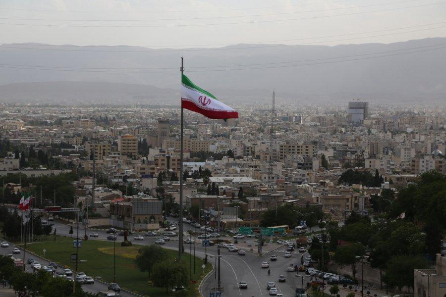 Panorama sur la ville de Chiraz. (© Pascal Mannaerts - www.parcheminsdailleurs.com))