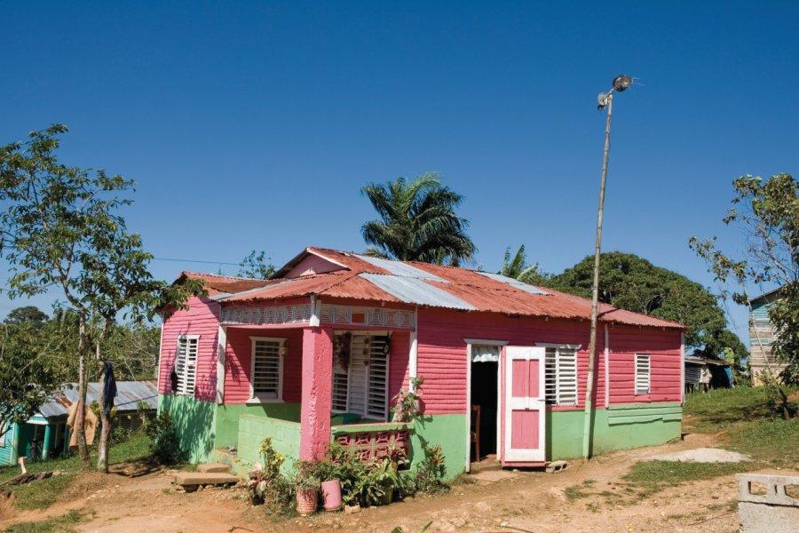 Habitation de la péninsule de Samaná. (© Irène ALASTRUEY - Author's Image))