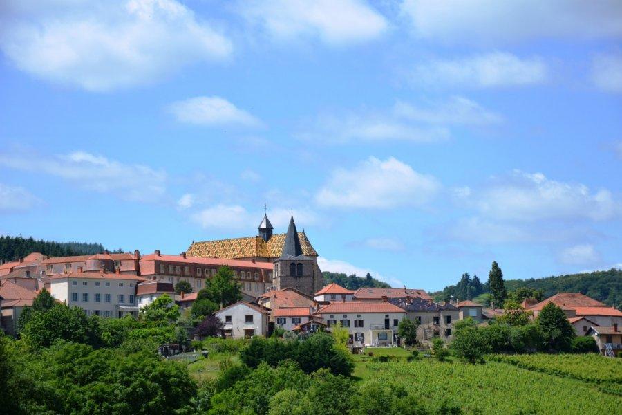 Le village d'Ambierle. (© Annerp - Fotolia))