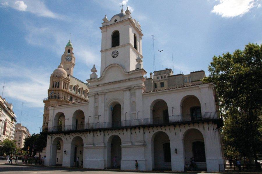 Le Cabildo de Buenos Aires sur la Plaza de Mayo, ancienne mairie de la ville. (© Maxence Gorréguès))