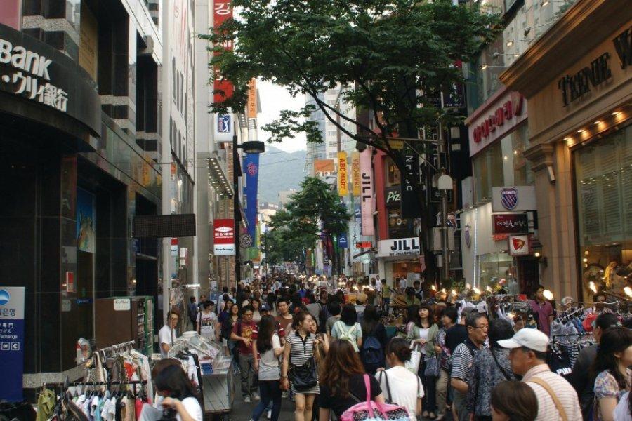 Séoul, capitale du shopping. (© Barthélémy COURMONT))