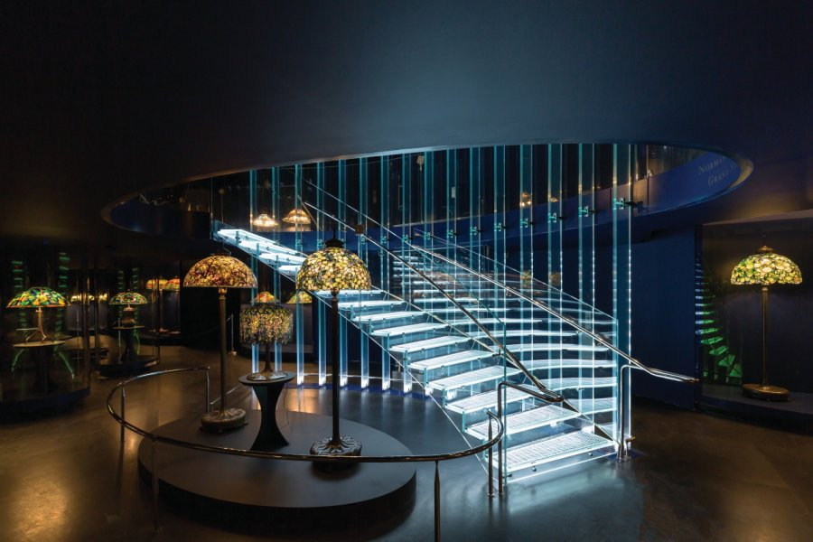 Galerie Tiffany Lamps. (© Corrado Serra))