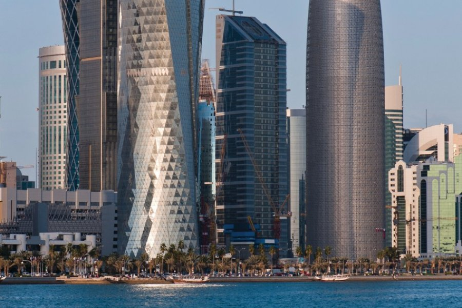 Architecture moderne de Doha. (© iStockphoto.com/tenzinsherab))