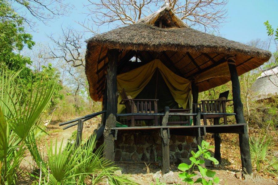 Tente du parc national de Gorongosa. (© HeckerBob - iStockphoto.com))