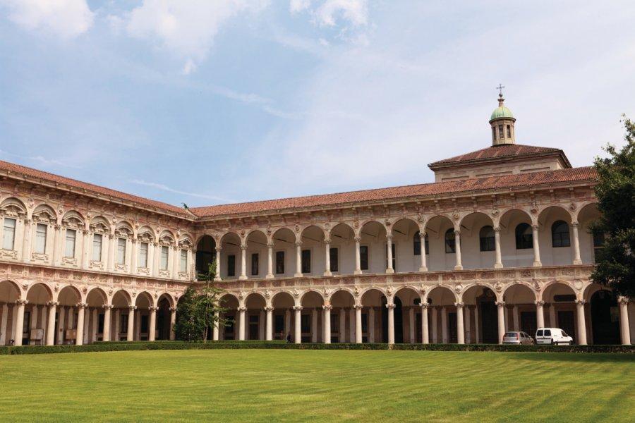 Ca' Granda (Università degli Studi di Milano) : l'université de Milan. (© Philippe GUERSAN - Author's Image))