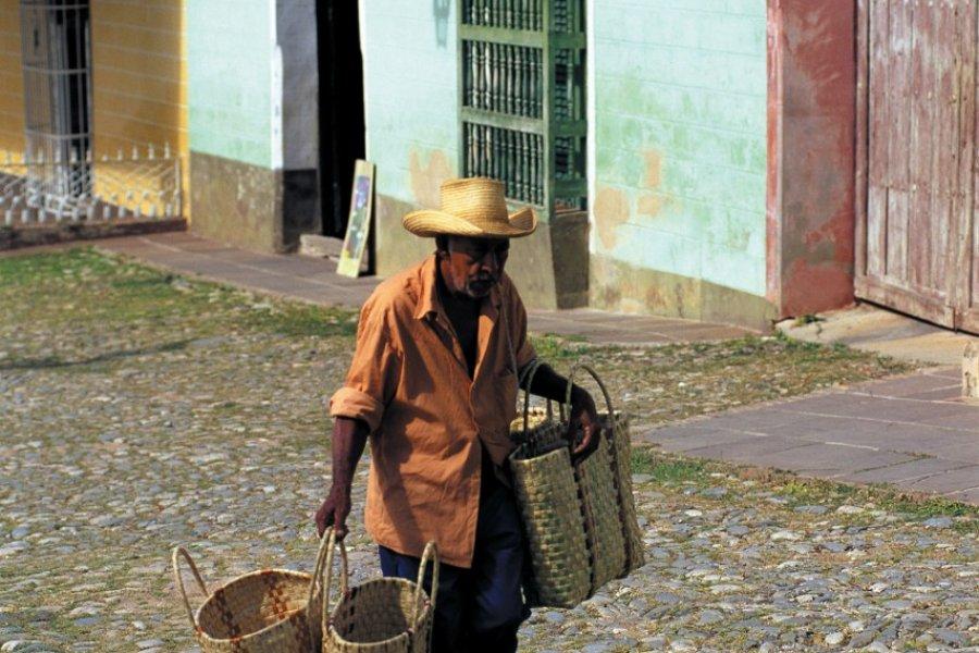 Vannier dans les rues de Trinidad. (© Author's Image))