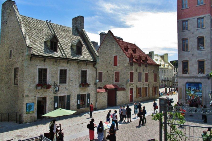 Le Vieux-Québec près de la place Royale. (© Valérie FORTIER))