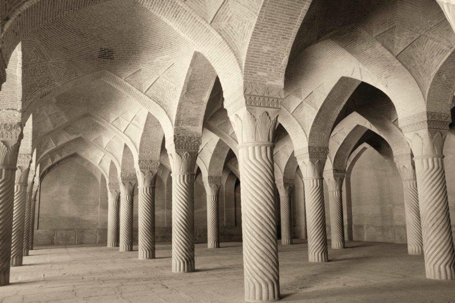 Intérieur de la Mosquée du régent de Chiraz. (© Alireza Behrooz))