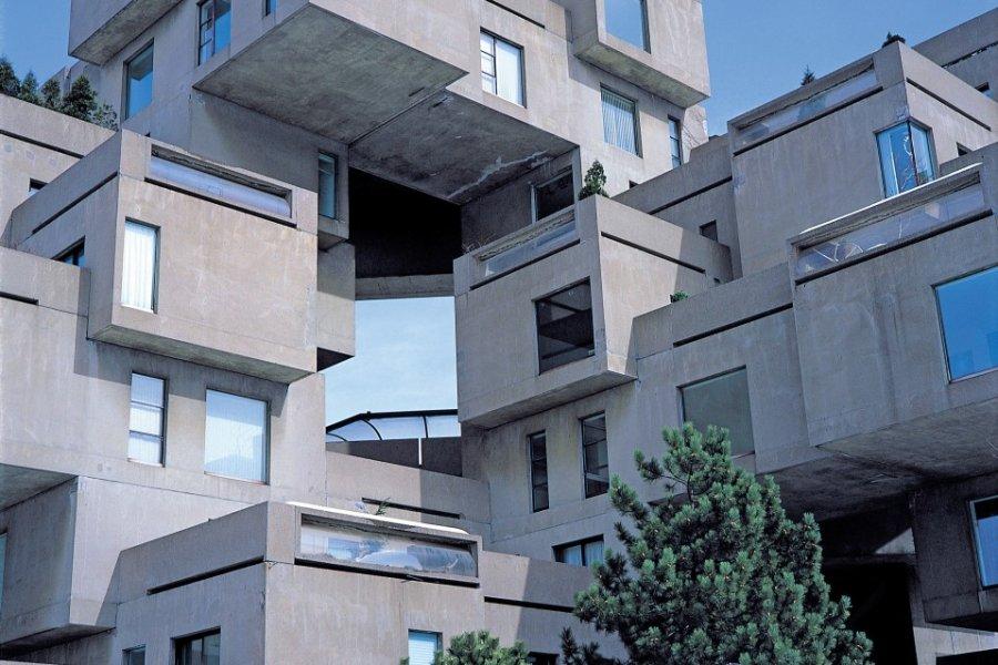 Habitat 67 à la Cité du Havre. (© Yukiko Yamanote - Iconotec))