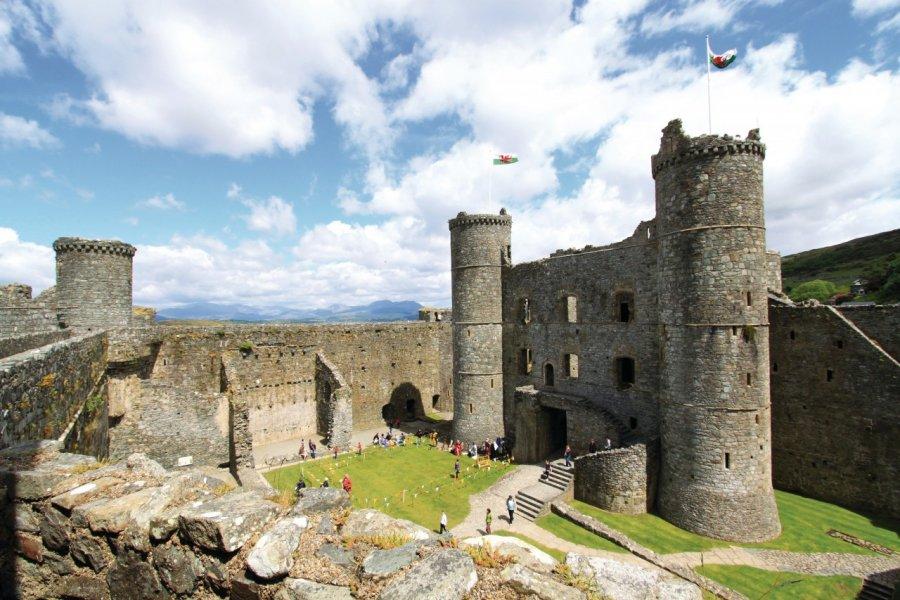 Harlech Castle (© _ultraforma_ - Fotolia))