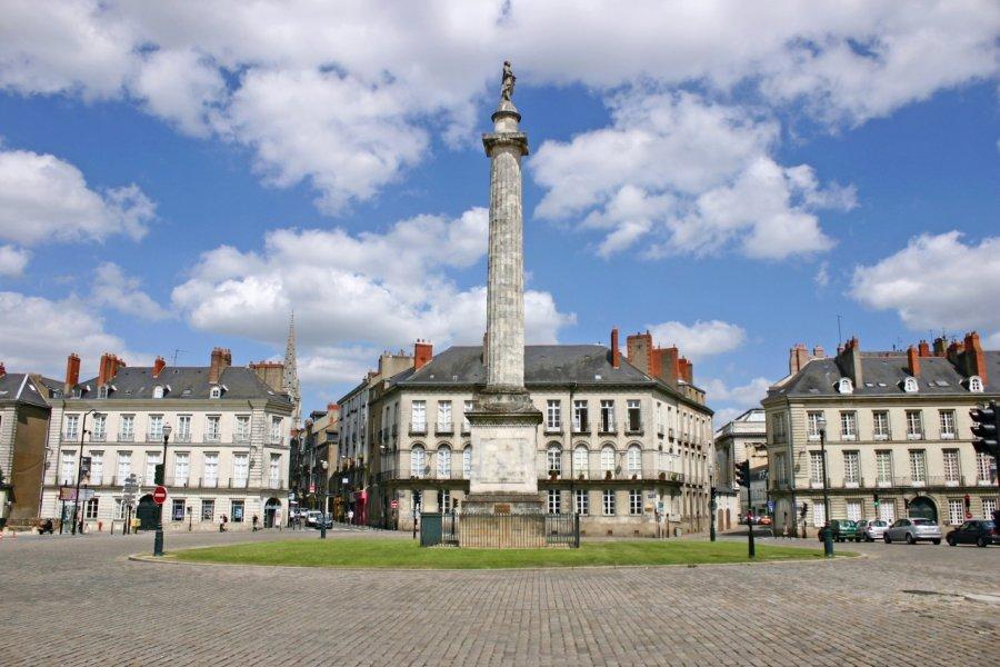 La place du Maréchal-Foch à Nantes (© Nool - Fotolia))