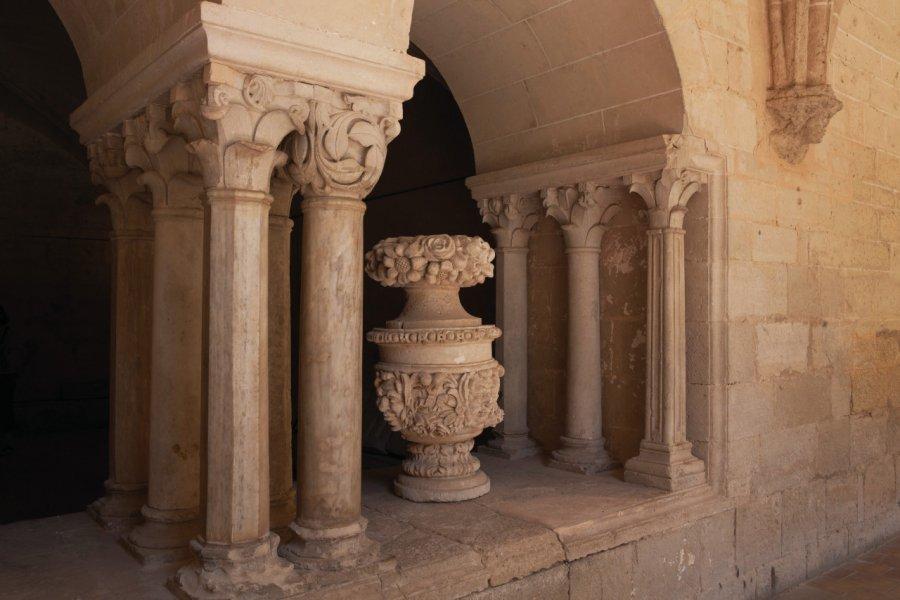 Intérieur de l'abbaye de Valmagne à Villeveyrac. (© Brigitte Merle / GraphicObsession))