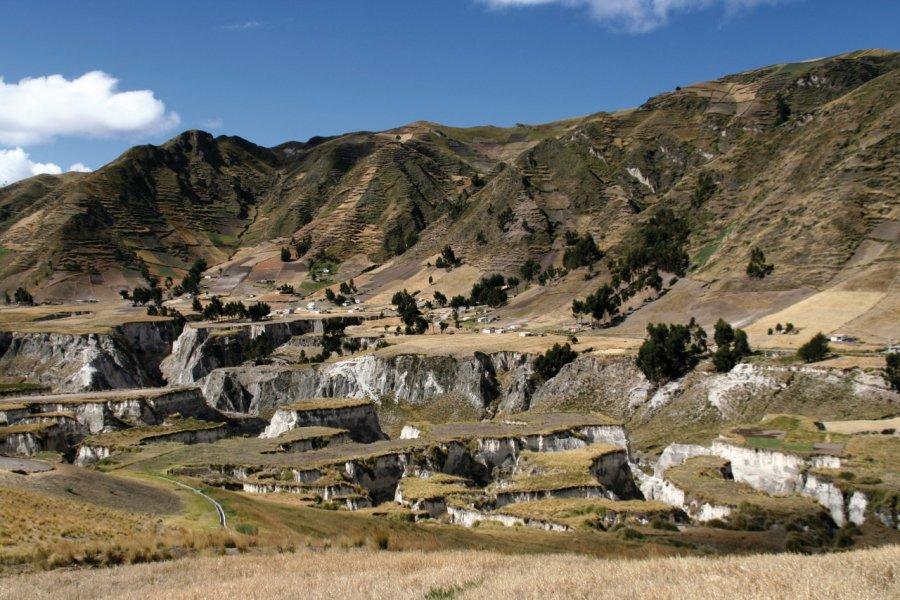 Canyons des environs de Zumbahua (© Stéphan SZEREMETA))