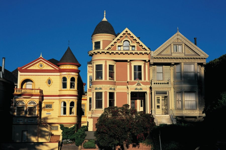 Maisons victoriennes de San Francisco. (© Tom Pepeira - Iconotec))