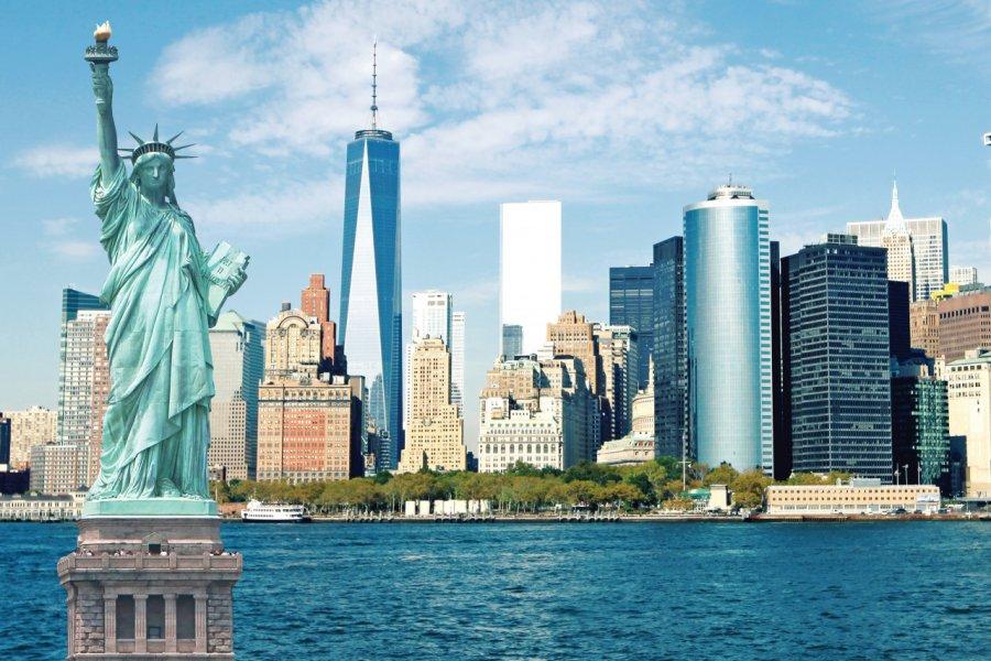 New York et sa statue de la liberté. (© TriggerPhoto - iStockPhoto.com))