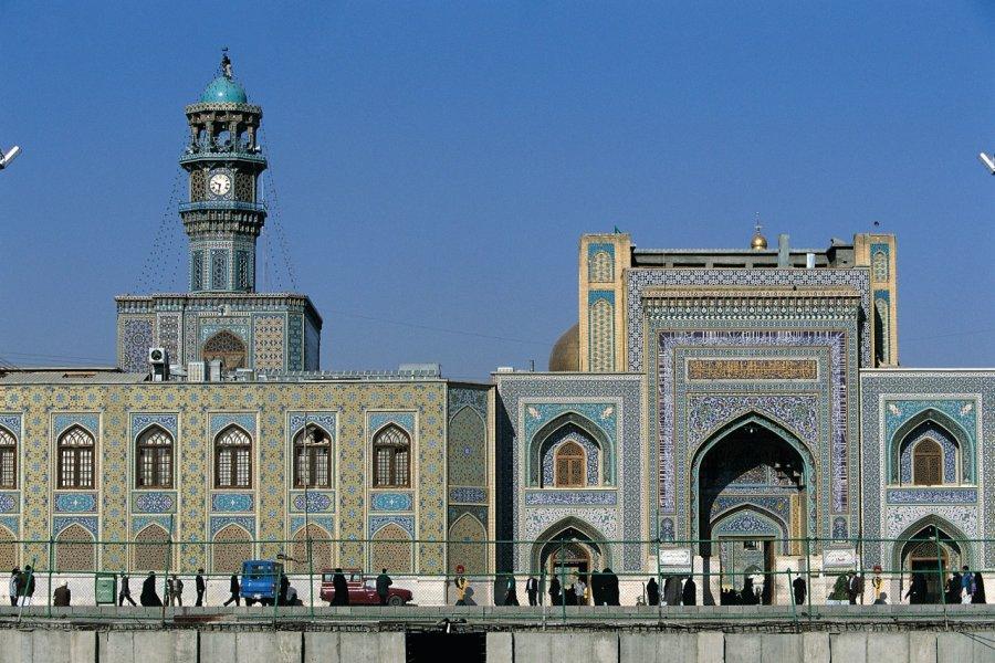Mausolée de l'imam Reza. (© Hervé Bernard _ Iconotec _ GraphicObsession))