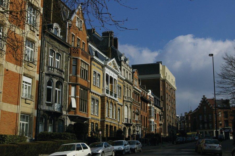 Rue typique du centre de Bruxelles. (© Antoine FERRIER - PictureFrom))