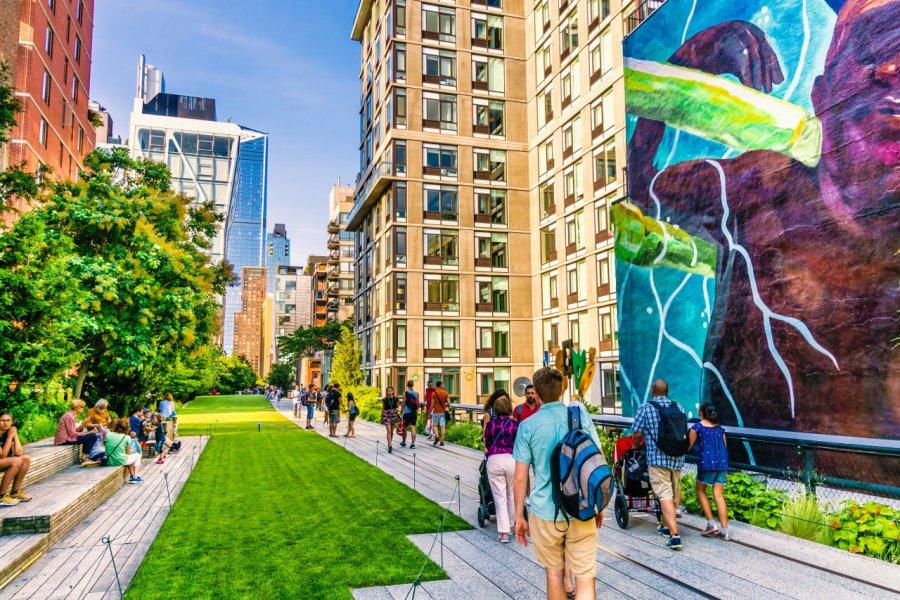 Le jardin suspendu Highline. (© Michael Urmann - Shutterstock.com))