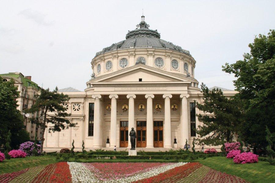 L'Athénée roumain de Bucarest. (© Stéphan SZEREMETA))