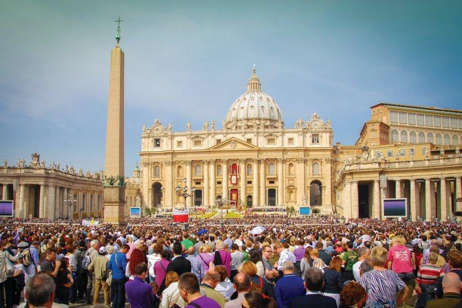 Dimanche de Pâques au Vatican. (© titoslack))