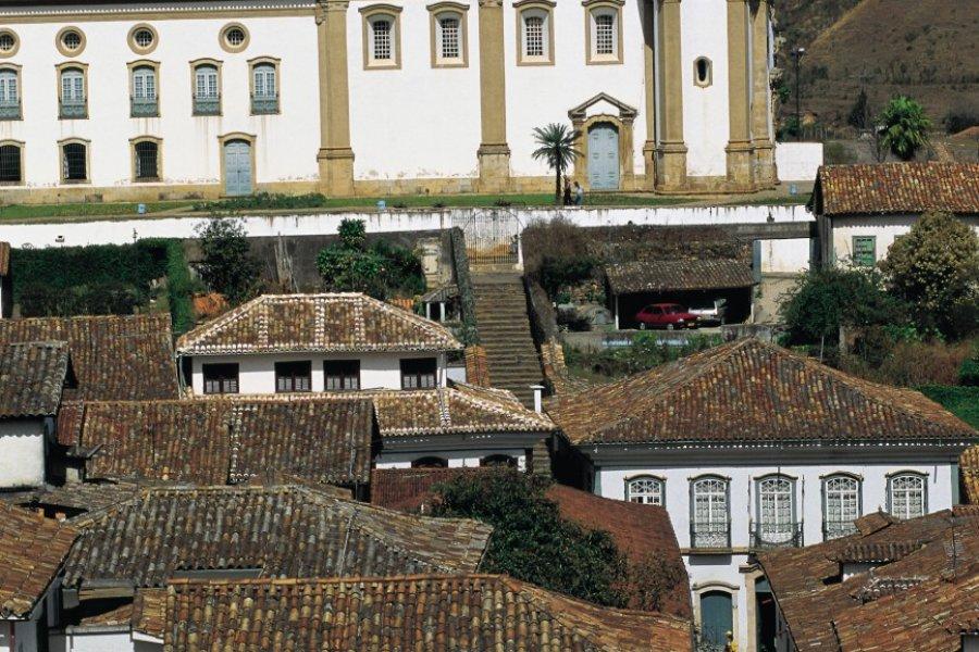 Maisons traditionnelles d'Ouro Preto. (© Tom Pepeira - Iconotec))