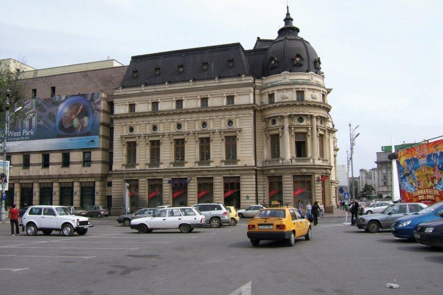 Immeuble de style parisien dans le centre-ville de Bucarest. (© Stéphan SZEREMETA))
