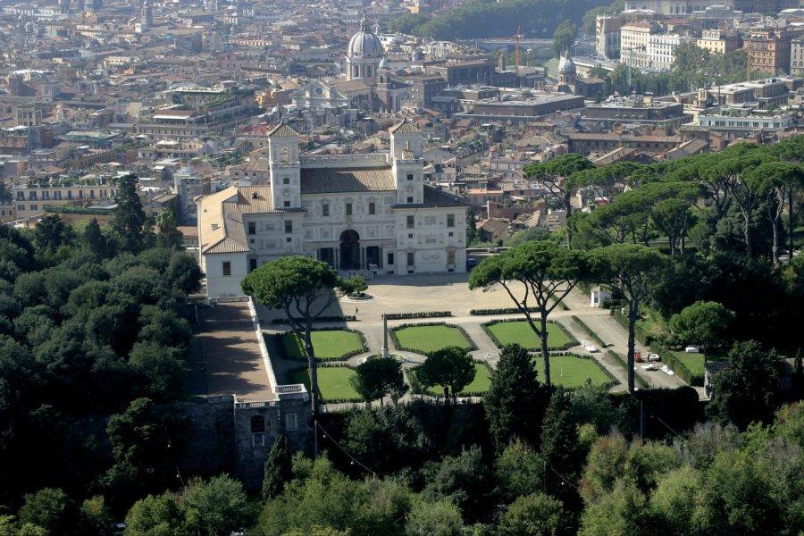 Villa Médicis et panorama de Rome. (© Picsofitalia.com))