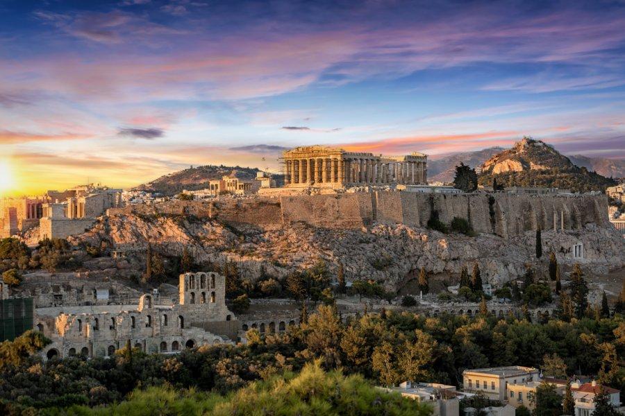 Vue sur l'Acropole. (© Sven Hansche - Shutterstock.com))