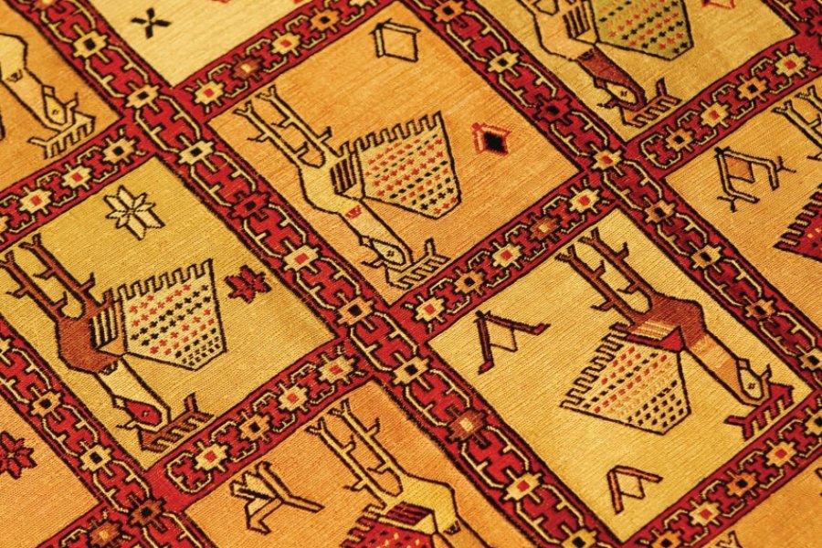 Boutique de tapis Turc, Kilim (boutique Bosphorus). (© Sébastien Cailleux))