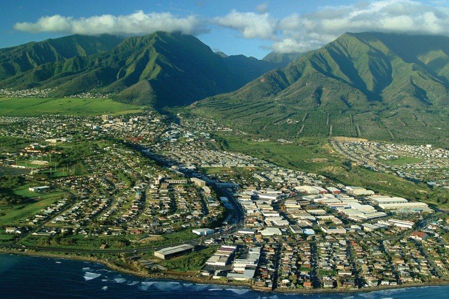 Survol de Kahului. (© Hawaii Tourism Authority (HTA) / Ron Garnett))