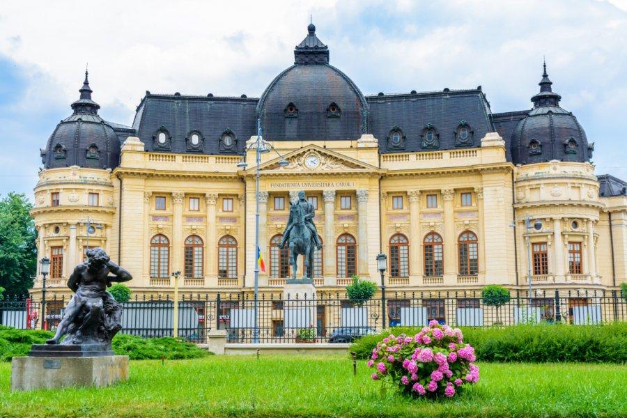 Bibliothèque centrale universitaire de Bucarest. (© Sogodel Vlad - Shutterstock.com))