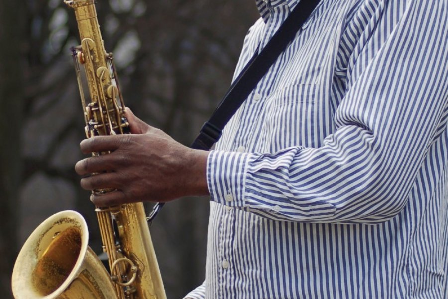 Saxophoniste à Central Park. (© iStockphoto.com/Yosmanor))