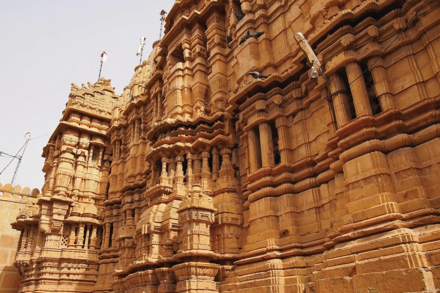 Temple jaïn de Jaisalmer. (© Maxime DRAY))