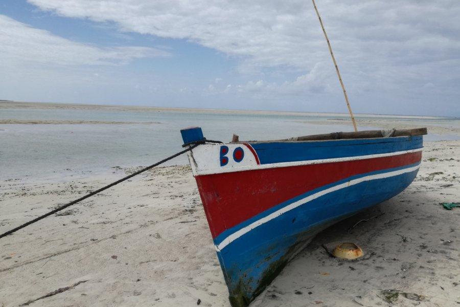 La plage de Quirimba. (© Elisa Vallon))
