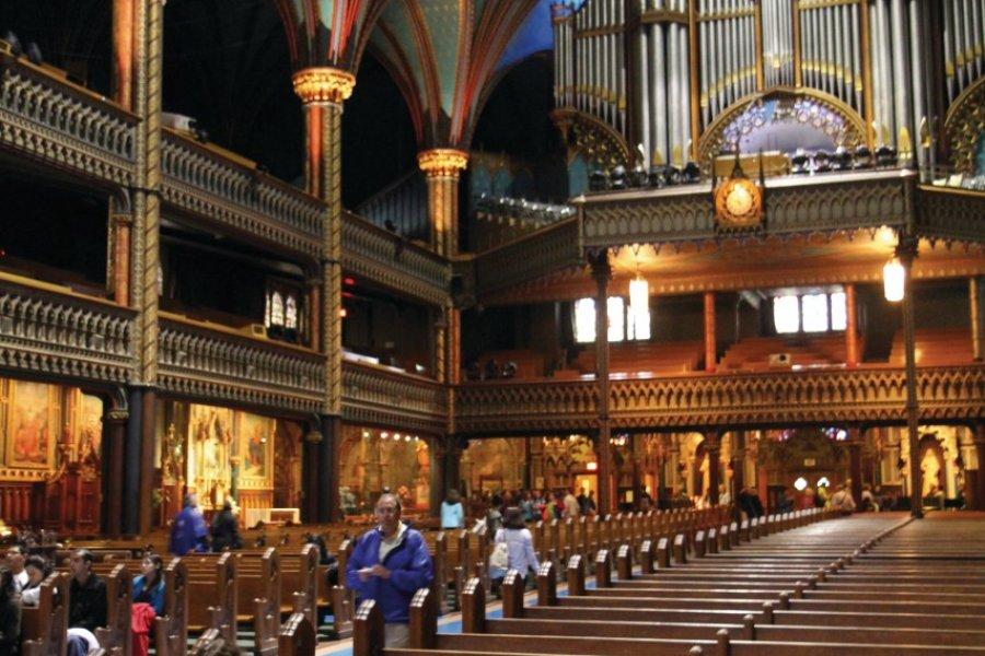 Basilique Notre-Dame de Montréal. (© Stéphan SZEREMETA))
