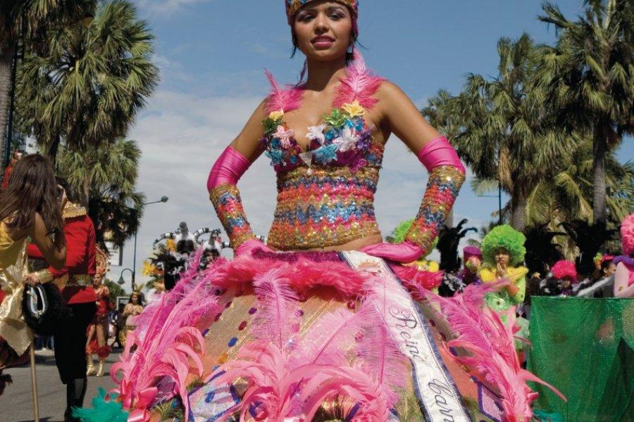 La Reine du Carnaval de Santo Domingo. (© Irène ALASTRUEY - Author's Image))