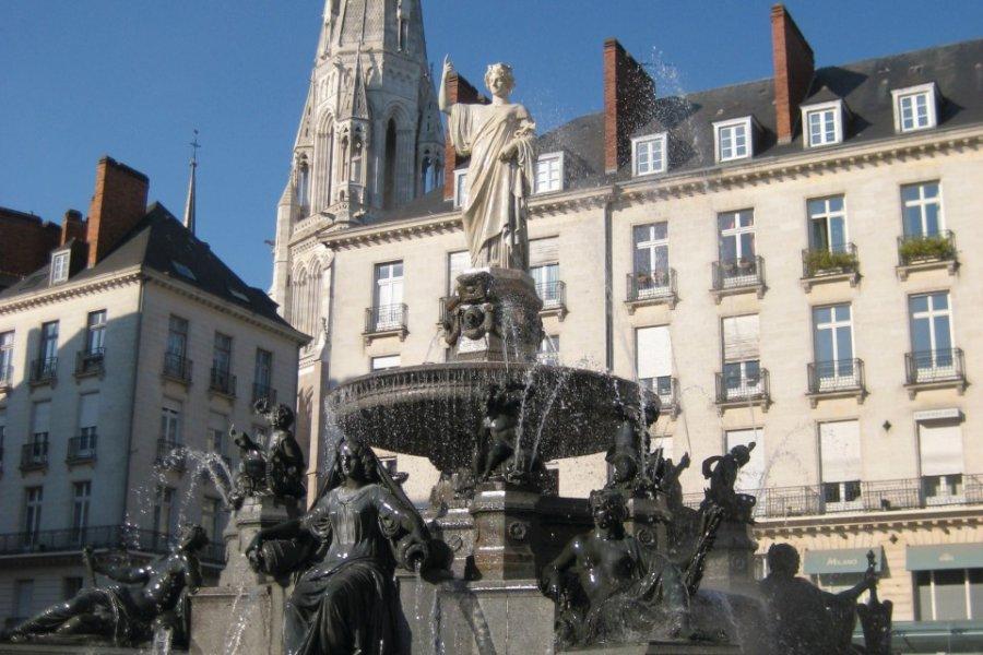 La Place royale de Nantes (© 6sous - Fotolia))