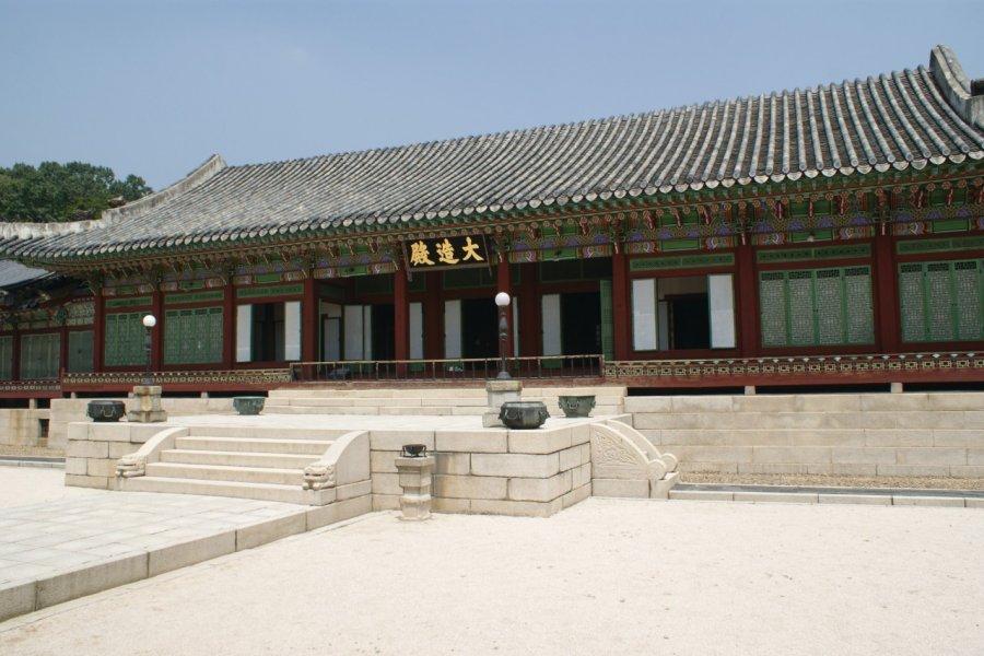 Palais Changdeokgung. (© Barthélémy COURMONT))