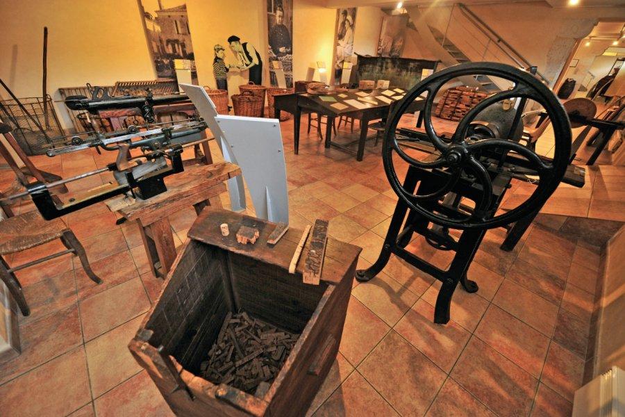 Salle atelier 19ème siècle. (© X. Chambelland, Département de Lot-et-Garonne))