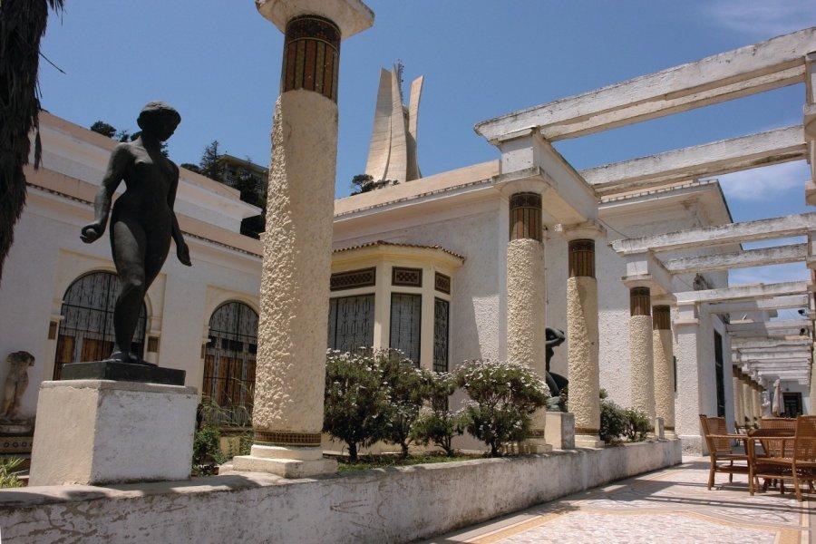 La terrasse du Musée national des Beaux-Arts. (© Sébastien CAILLEUX))