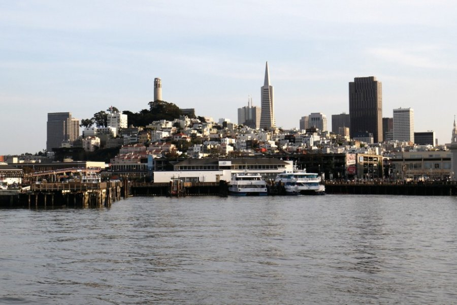 San Francisco vu de la baie. (© Stéphan SZEREMETA))