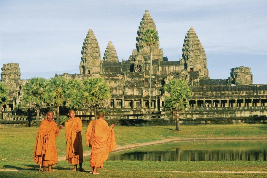 Temple d'Angkor Wat. (© Eric Martin - Iconotec))