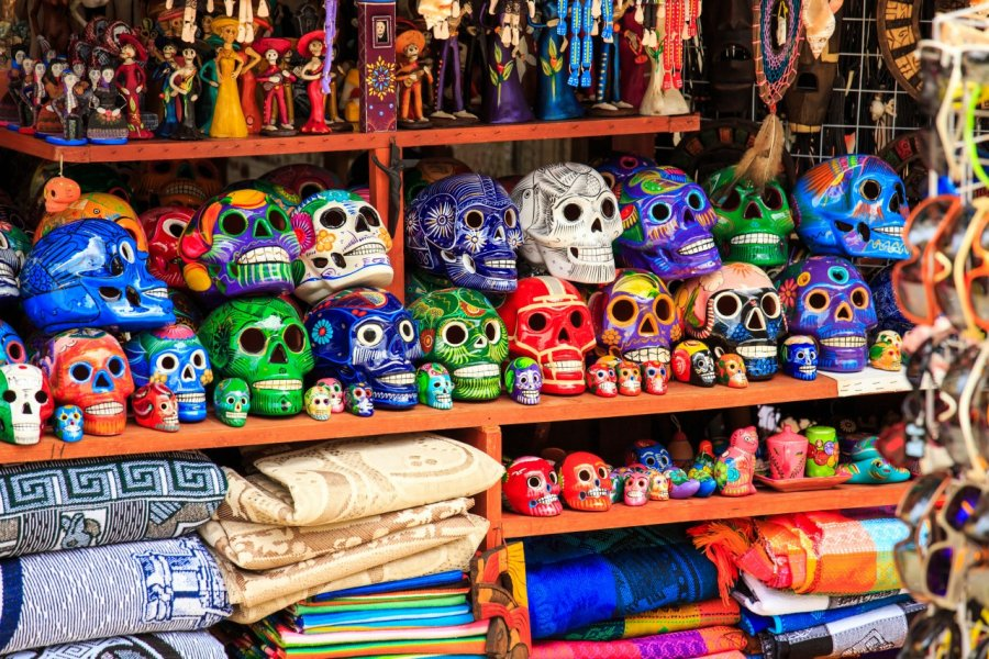 Souvenirs de Playa del Carmen. (© Maciej Czekajewski - Shutterstock.com))