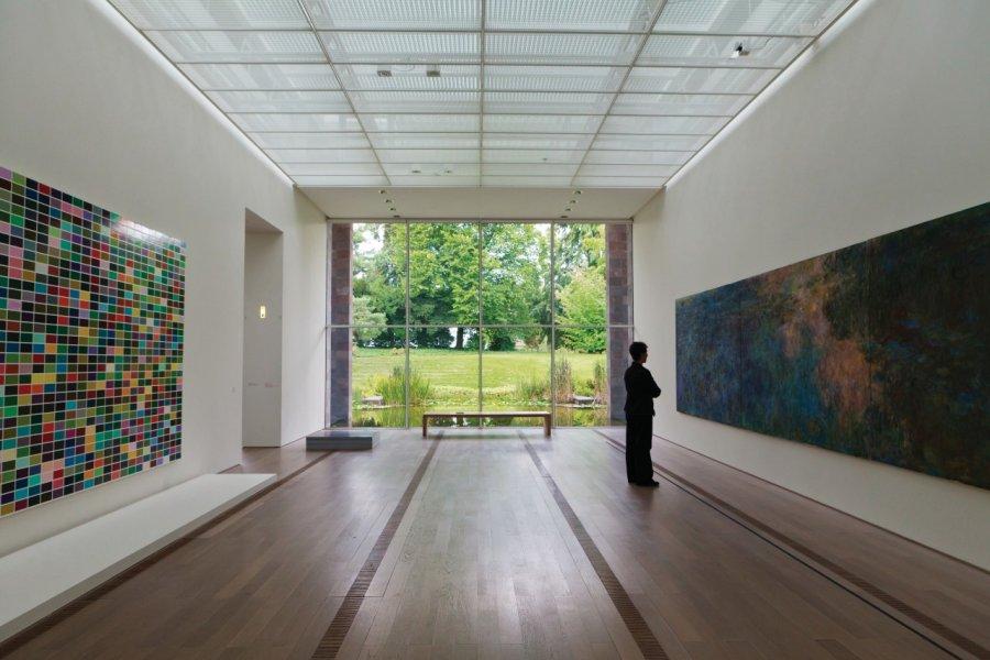 Fondation Beyeler imaginée par l'architecte Renzo Piano. (© Philippe GUERSAN - Author's Image))