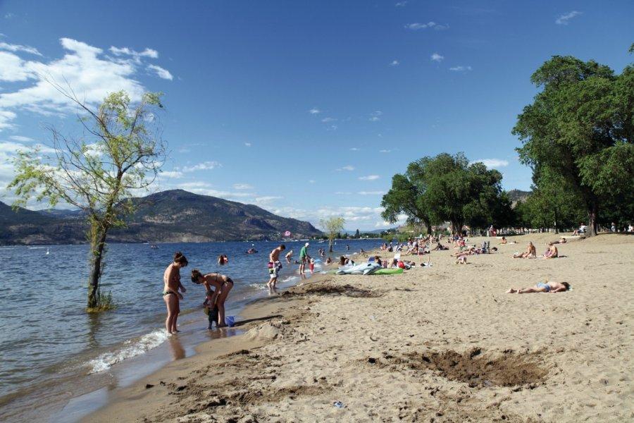 Hot Sands Beach en bordure du City Park. (© Stéphan SZEREMETA))