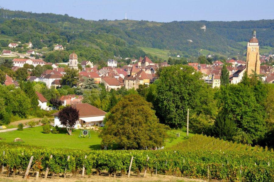 Le petit village d'Arbois. (© Philetdom))
