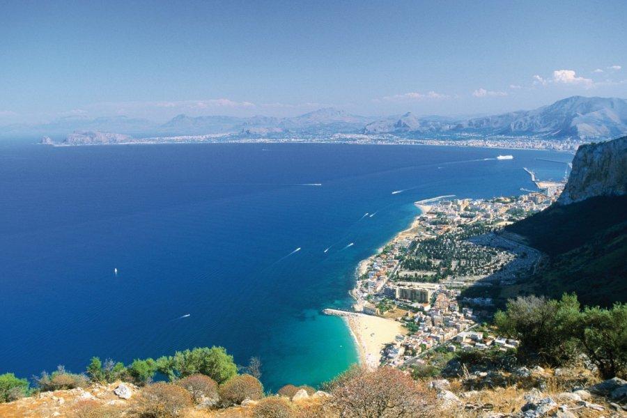 Golfe de Palerme vu du monte Pellegrino. (© Author's Image))