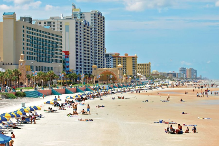 Plage de Daytona Beach. (© Tom Hirtreiter - Fotolia))