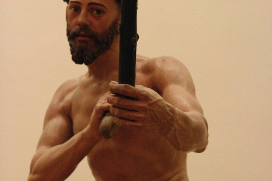Pénitence de Saint Dominique, sculpture de Juan Martínez Montañés. (© Stéphan SZEREMETA))